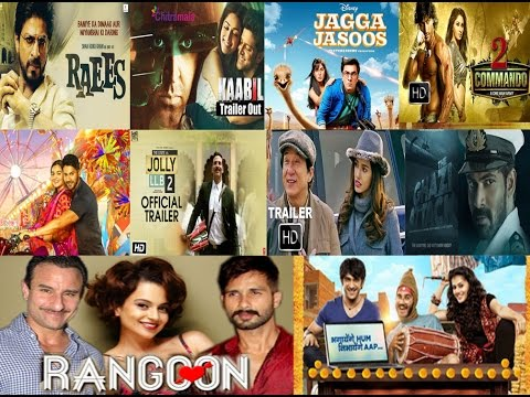 Upcoming bollywood new movies Official Trailers #1 (2017) | Bollywood Movies 2017 Official Trailers
