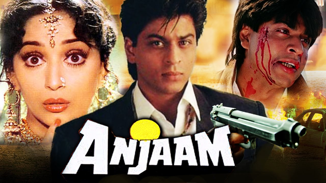Anjaam (1994) Full Bollywood Hindi Movie | Shahrukh Khan, Madhuri Dixit, Deepak Tijori, Johnny Lever